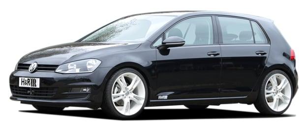 H&R Sänkningssats VW Golf 7 inkl GTD Låg version