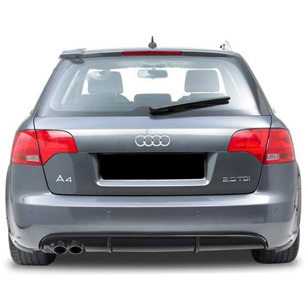 Rear diffuser Audi A4 05-07 B7