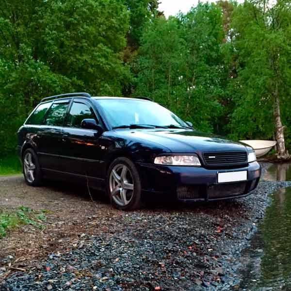 Vindavvisare Audi A4 B5 Avant