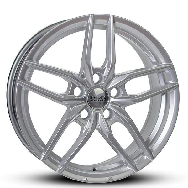 Complete set of Imaz IM16 Silver winter wheels