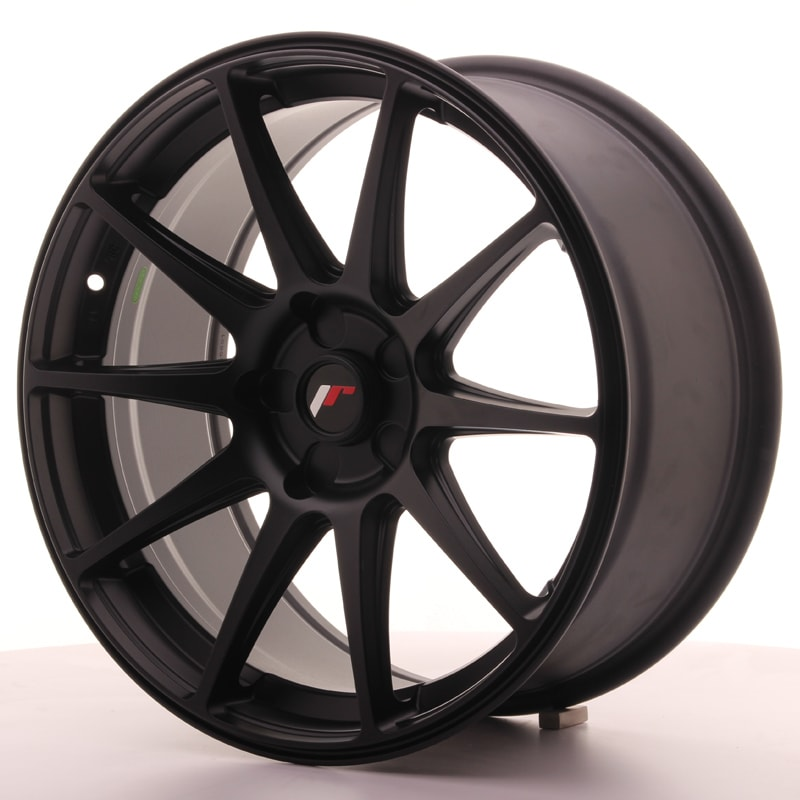 Complete wheel set of  JR11 Black
