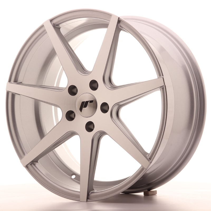 Complete wheel set of  JR20 Silver
