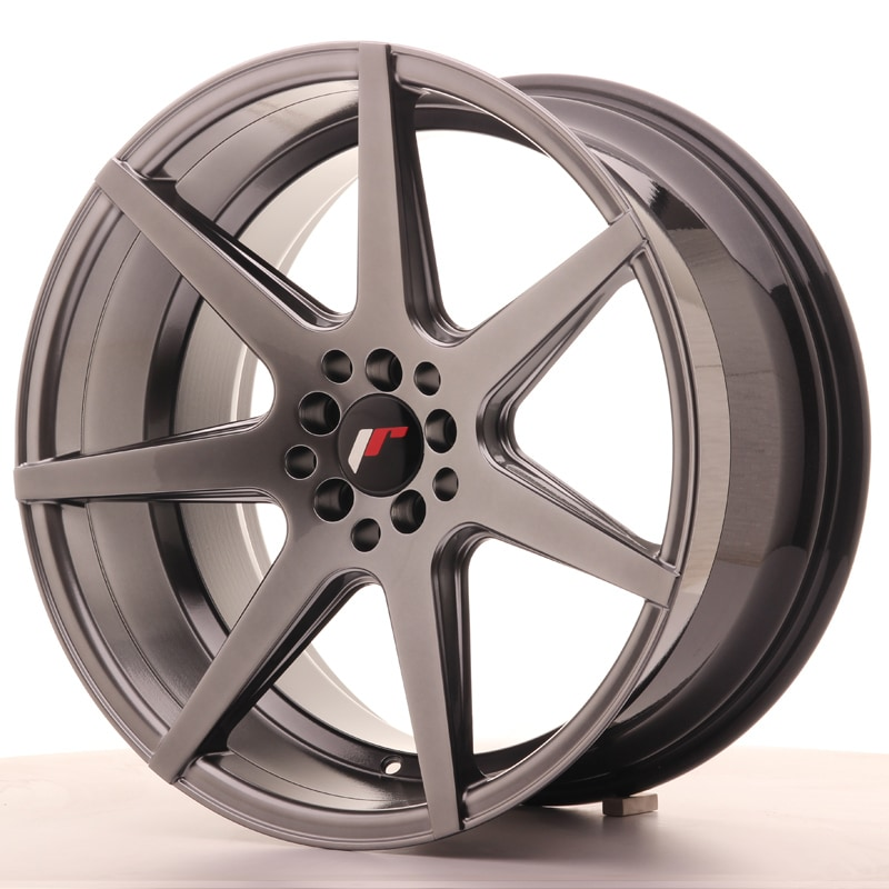 Complete wheel set of  JR20 Hiper black
