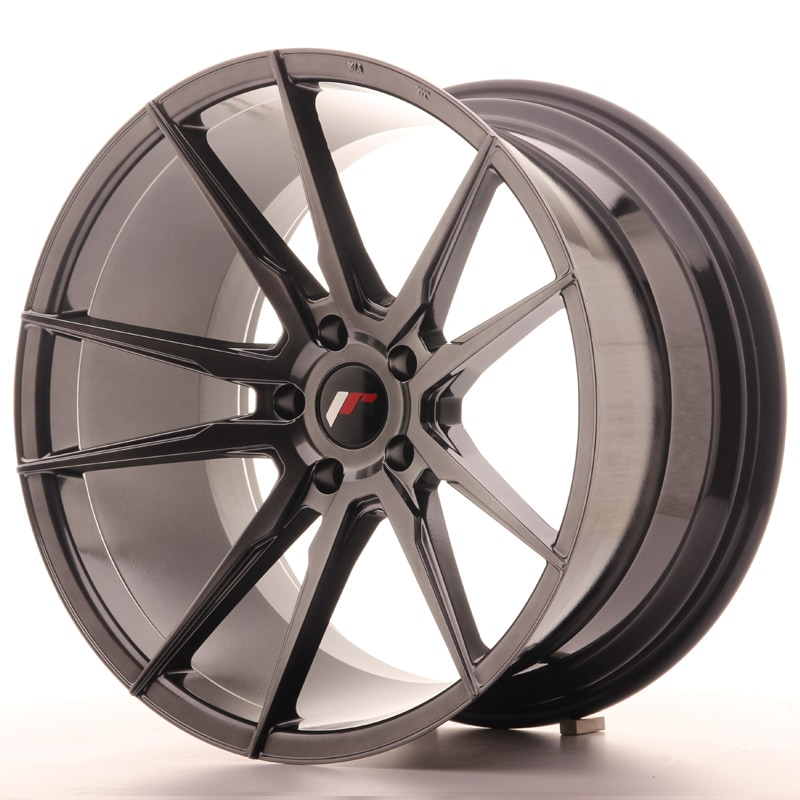 Complete wheel set of  JR21 Hyperblack