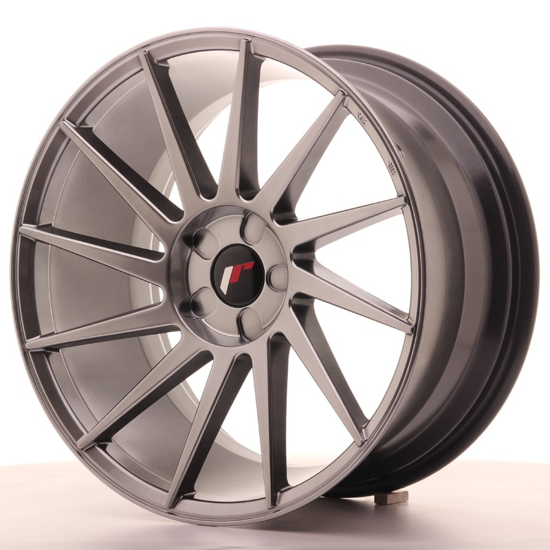 Complete wheel set of  JR22 Hyperblack
