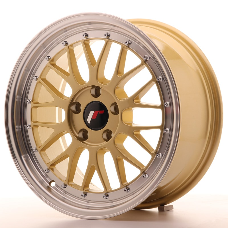 Complete wheel set of  JR23 Gold