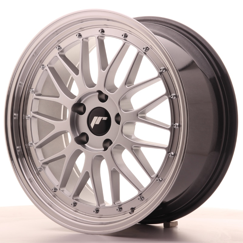 Complete wheel set of  JR23 Silver