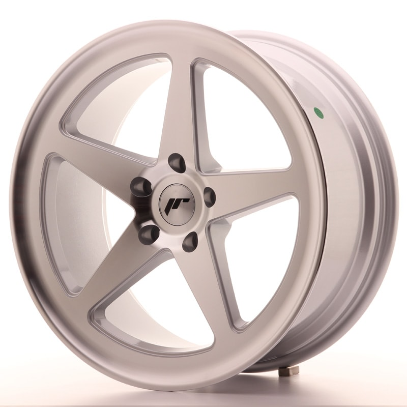 Complete wheel set of  JR24 Silver