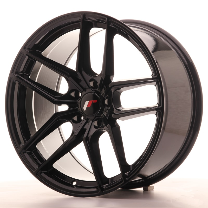 Complete wheel set of  JR25 Black