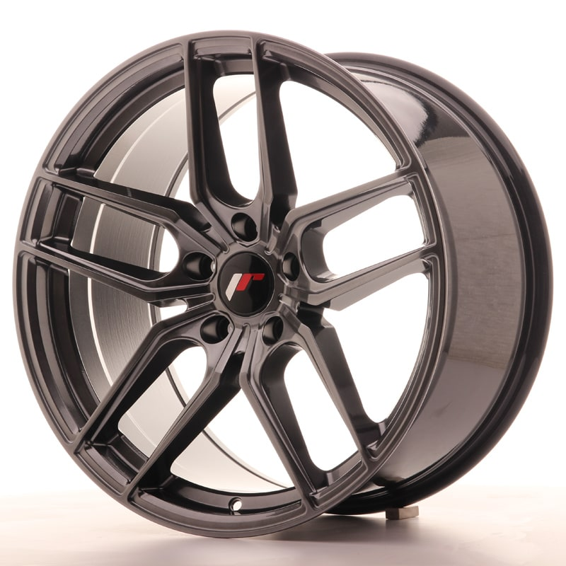Complete wheel set of  JR25 Hyperblack