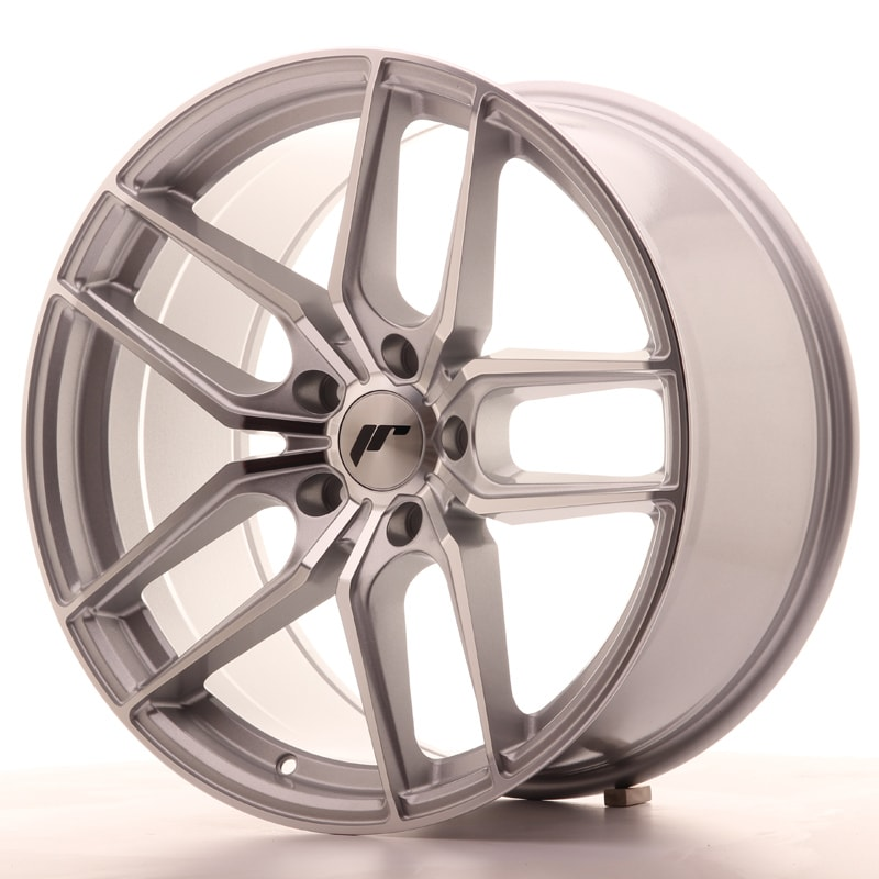 Complete wheel set of  JR25 Silver