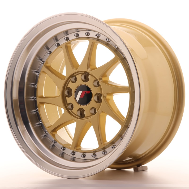 Complete wheel set of  JR26 Gold