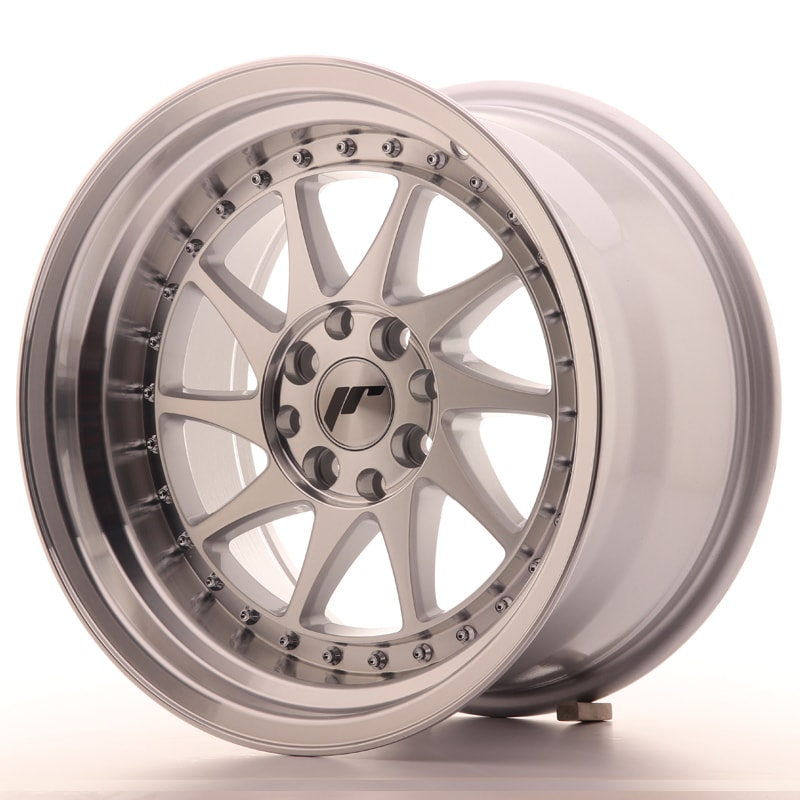 Complete wheel set of  JR26 Silver