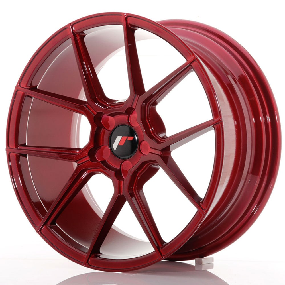 JR30 Platinum Red Fälgpaket