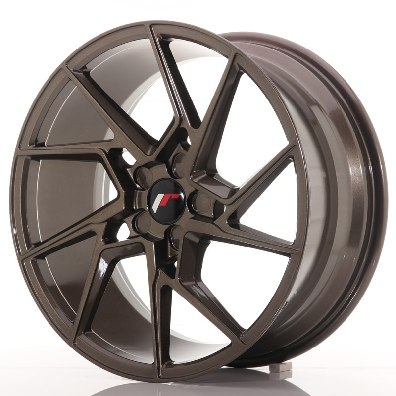 Complete wheel set of  JR33 Bronze