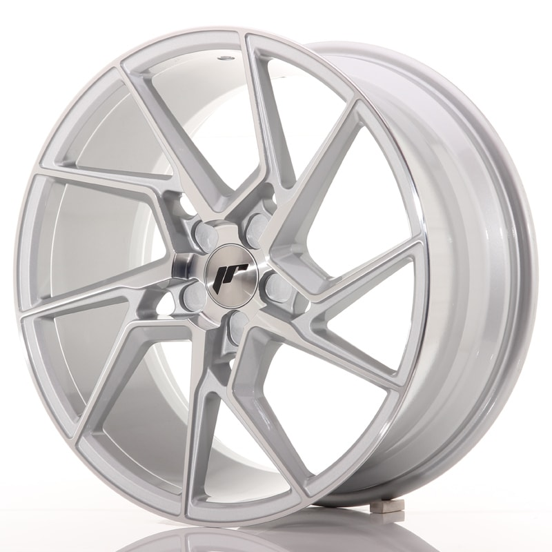 Complete wheel set of  JR33 Silver