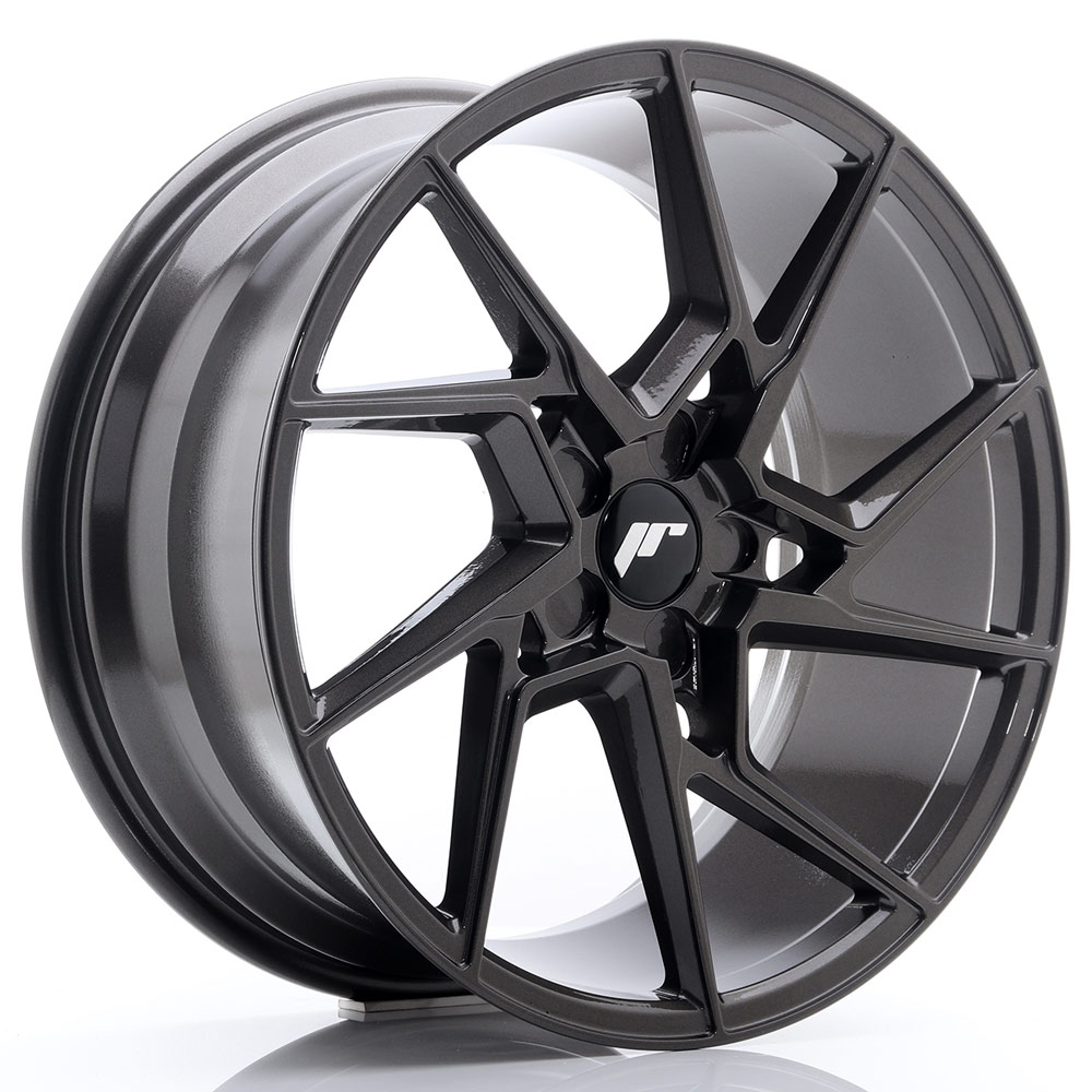 Complete wheel set of  JR33 Hyperblack