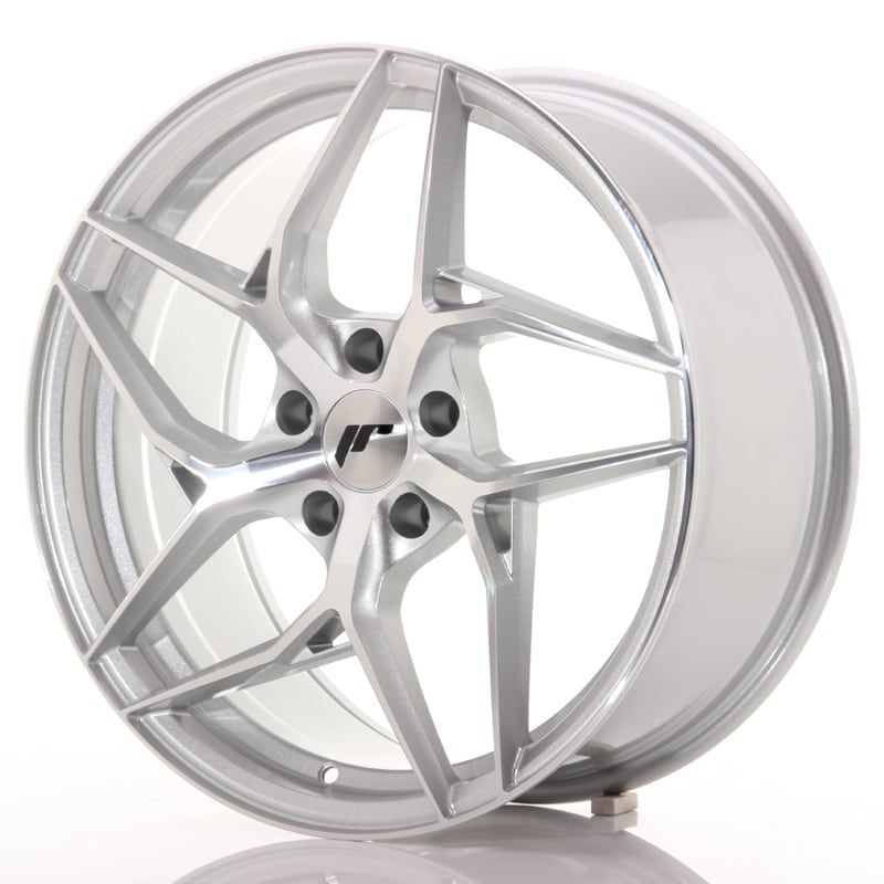 Complete wheel set of  JR35 Silver