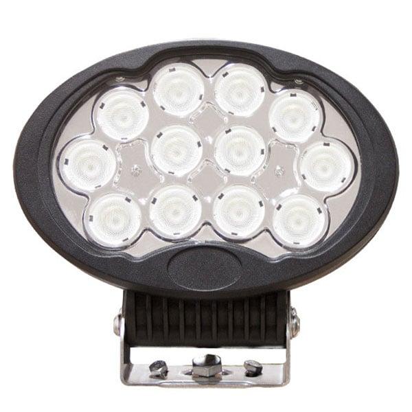 LED Arbetslampa Oval 120W DT kontakt
