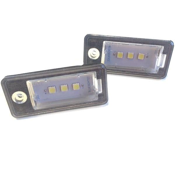 CREE LED Nummerskyltsbelysning Audi CREE LED