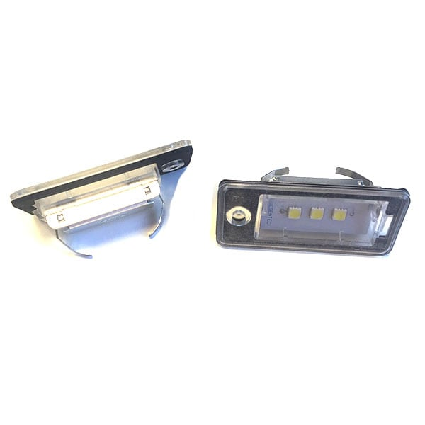CREE LED numberplate lights Audi CREE LED