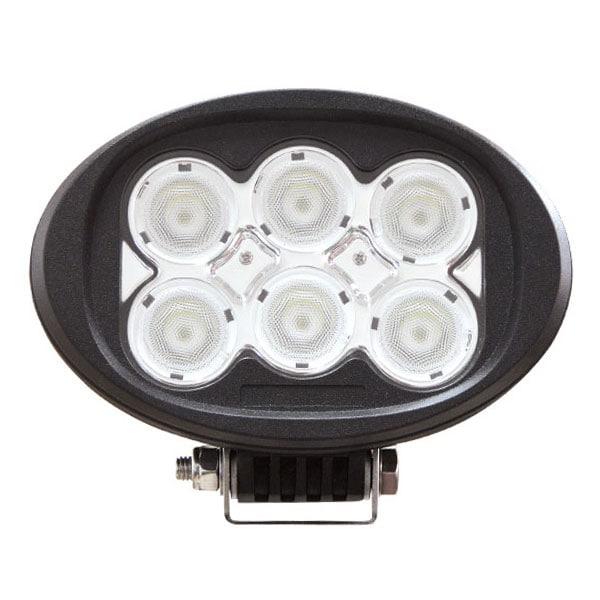 LED Arbetslampa Oval 60W DT kontakt