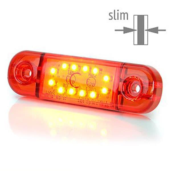 LED Positionsljus / Sidomarkering 12-24V