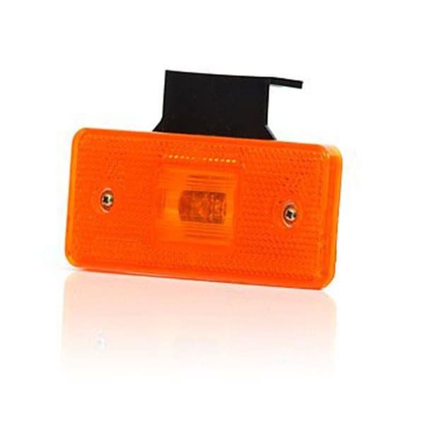 LED Sidomarkeringsljus orange 12-24V
