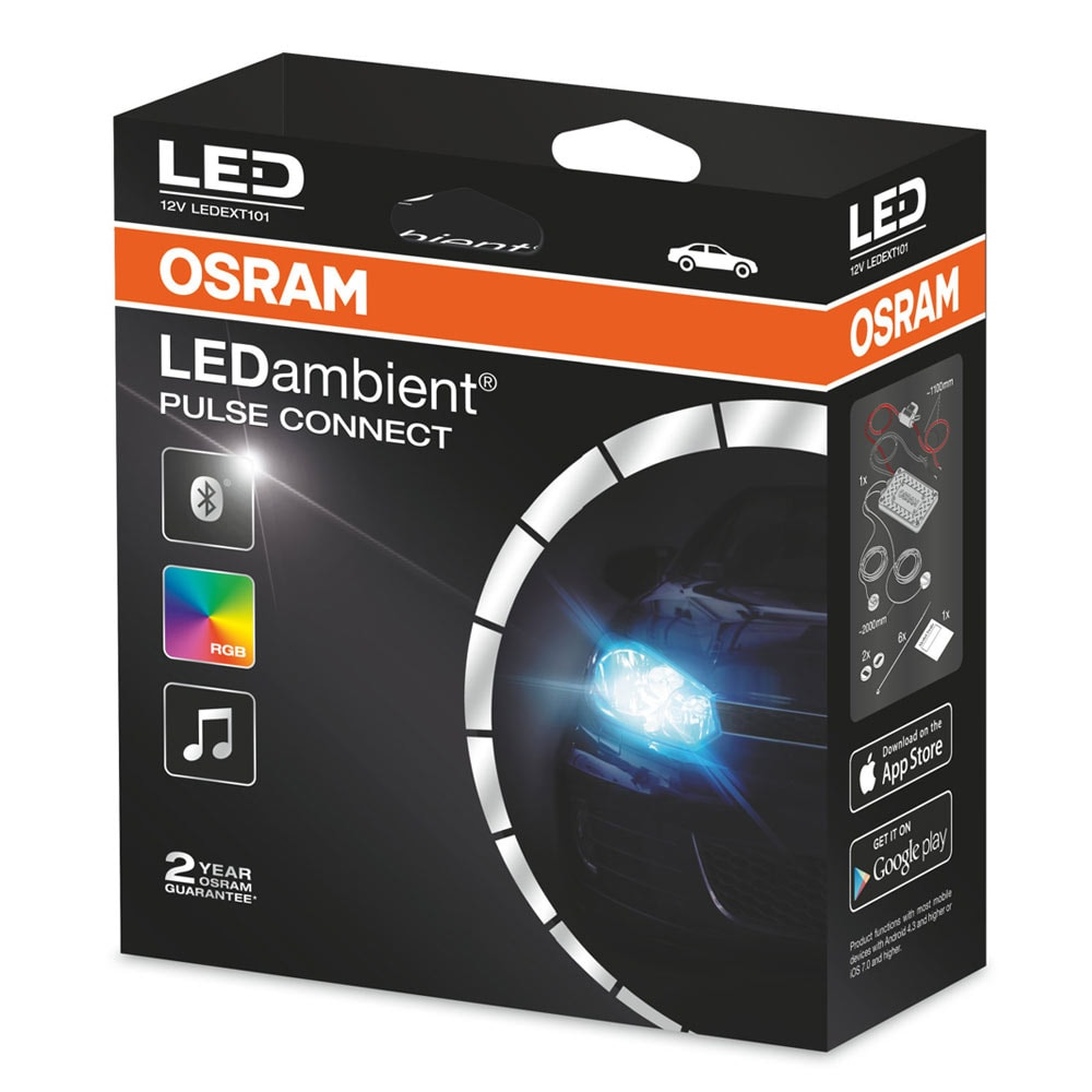 LEDambient PULSE CONNECT Small disk