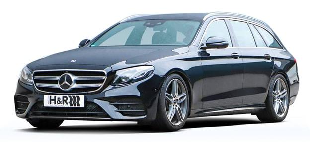 H&R Sänkningssats Mercedes W213 T-modell