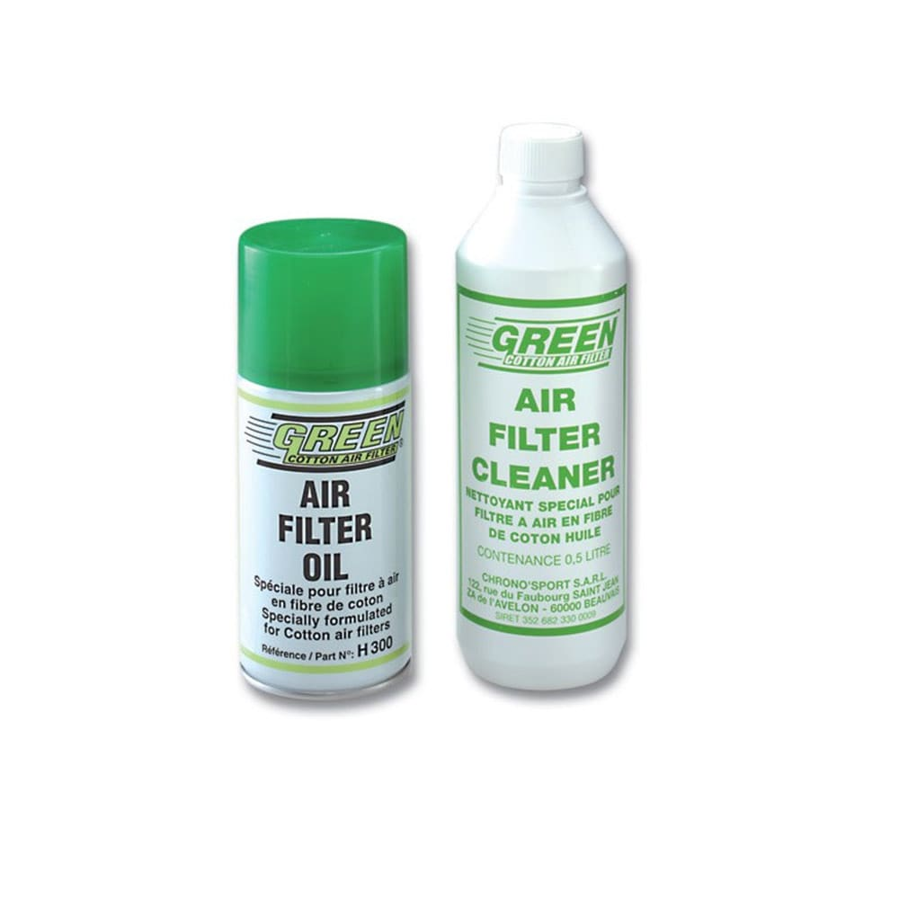 Green Filters Rengöringskit till luftfilter