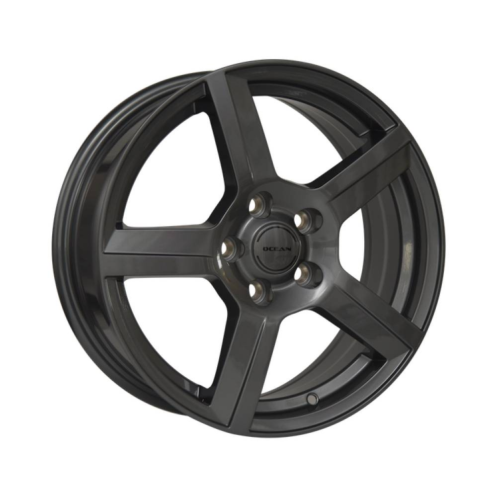Complete set of Ocean OC-02 Anthracite winter wheels