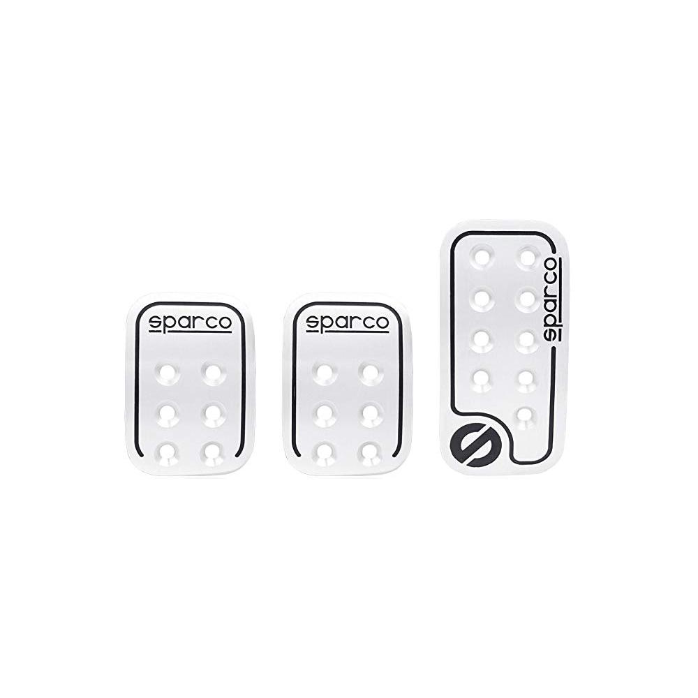 Sparco pedalsätt Silver