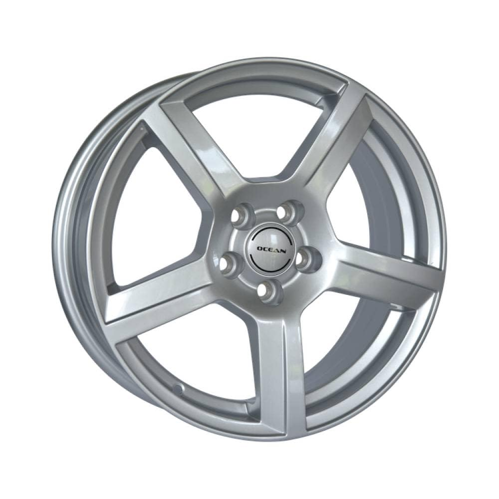 Complete set of Ocean OC-02 Silver winter wheels
