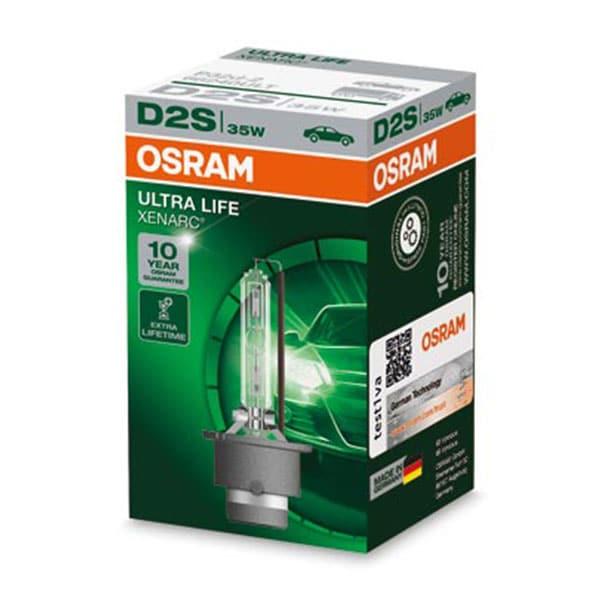 Osram D2S Xenonlampor Xenarc Ultra Life