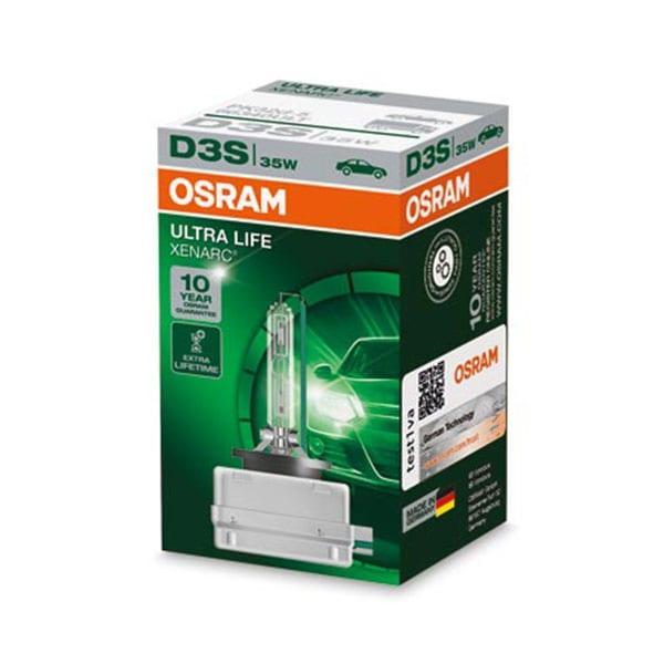 Osram D3S Xenonlampor Xenarc Ultra Life