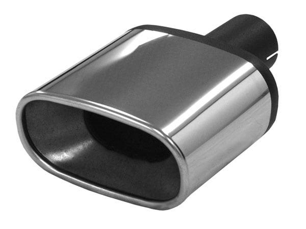 Rostfritt ändrörskit - Plattovalt 85/150mm