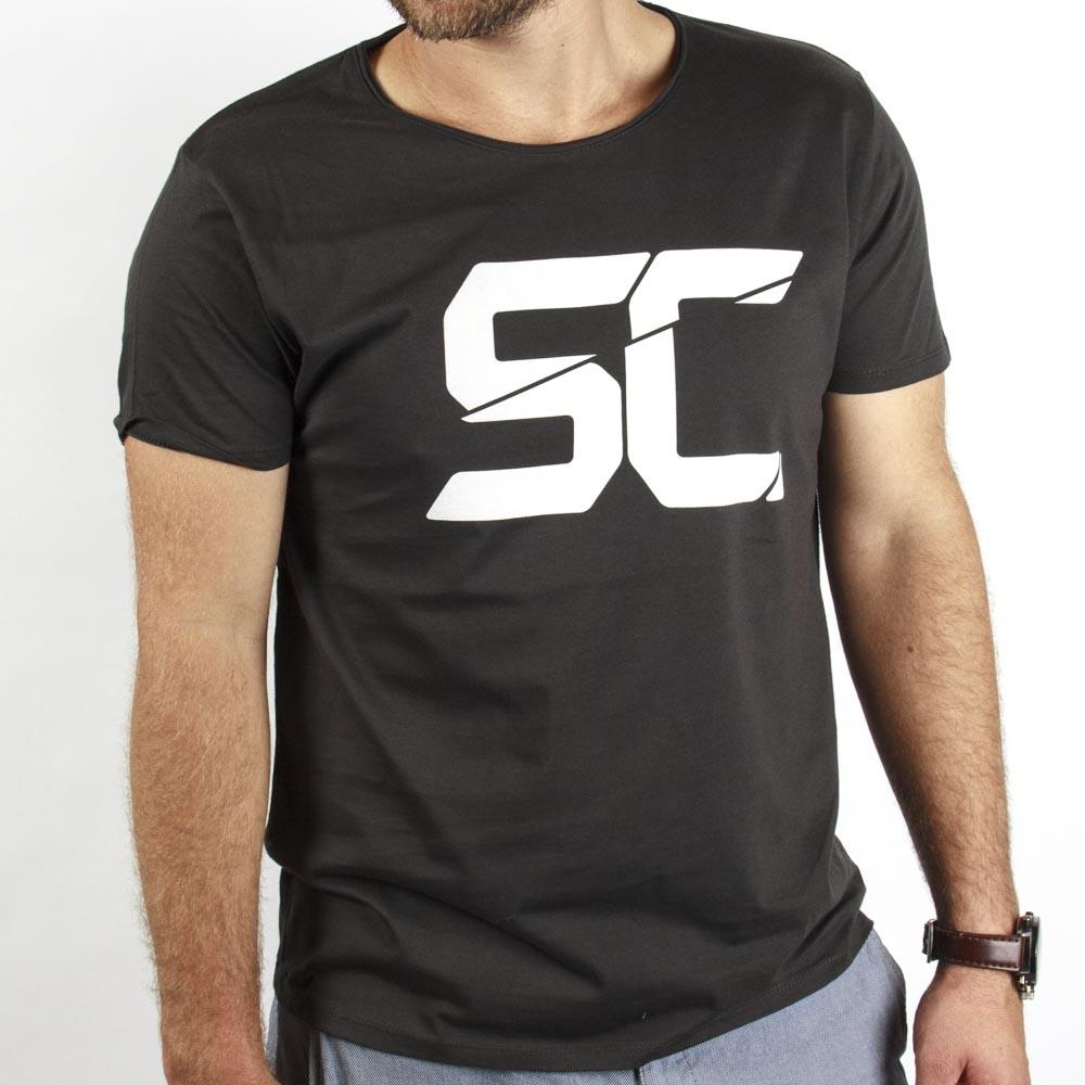 T-shirt SC Grå V.9