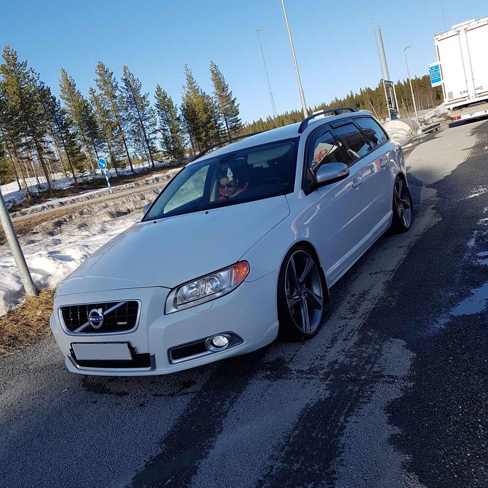 Vindavvisare Volvo V70 & XC70 2008-
