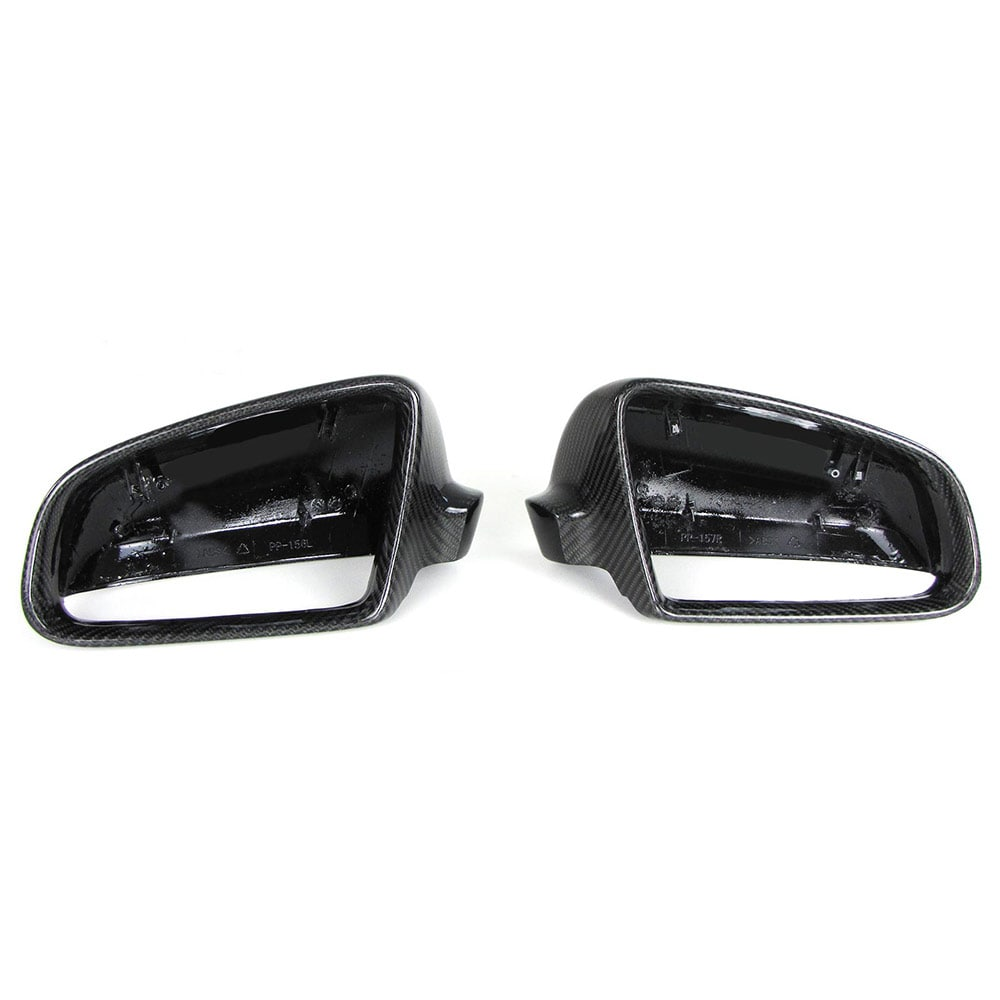 Audi spegelkåpor Kolfiber