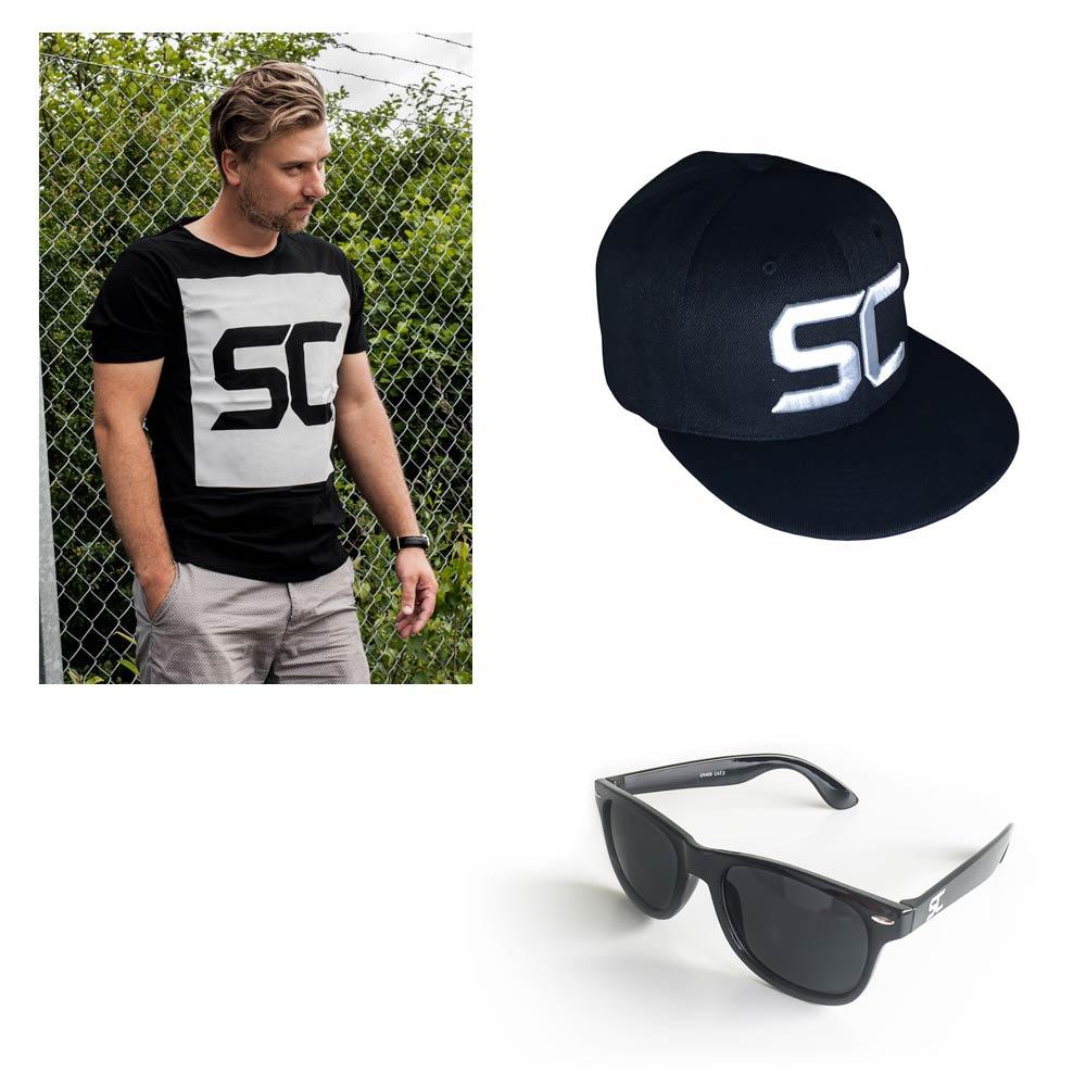 SC Kit: Cap, sunglasses and T-shirt