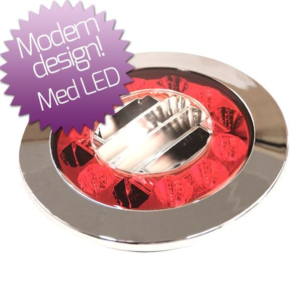 LED baklampa Bak / Broms / Blinkers 10-30V