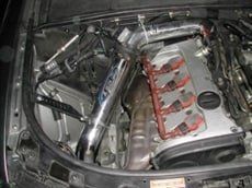 Twin Charger Intake System