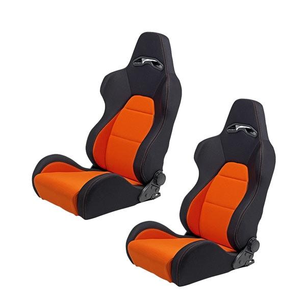 Sportstolar Svart/Orange