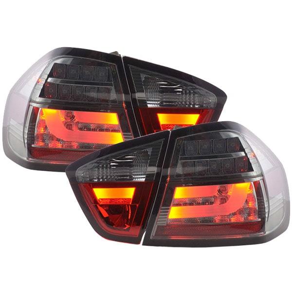LED Baklampor svarta BMW E90