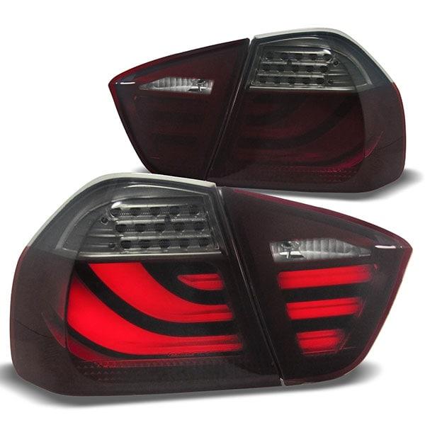 LED Baklampor Röd Svart BMW E90