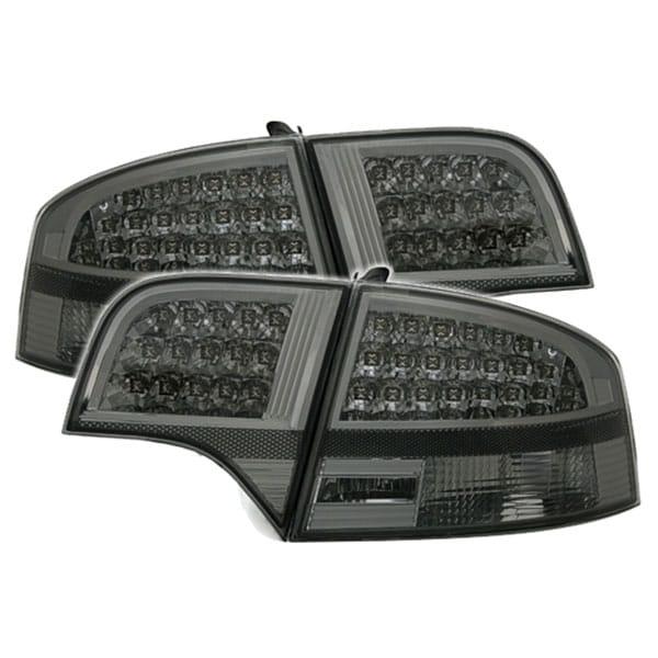 Black LED rear lamps Audi A4