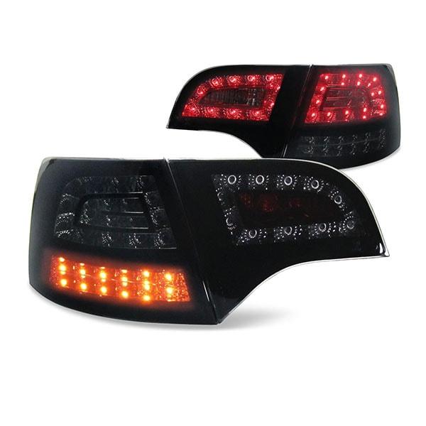 LED rear lamps black Audi A4 B7