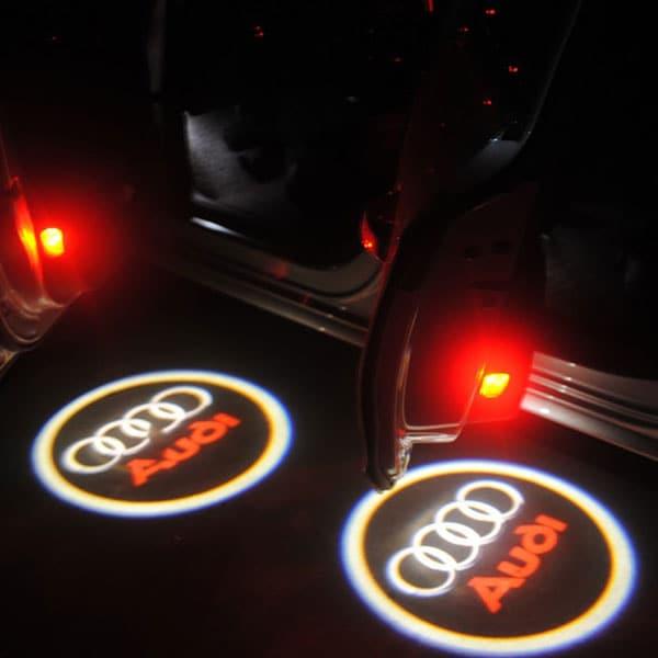 Modellanpassad Audi Logo