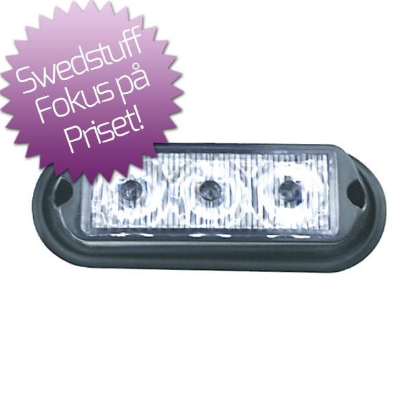 Swedstuff LED Blixtljus 12-24V